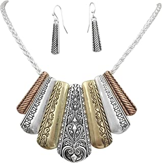gypsy statement necklace