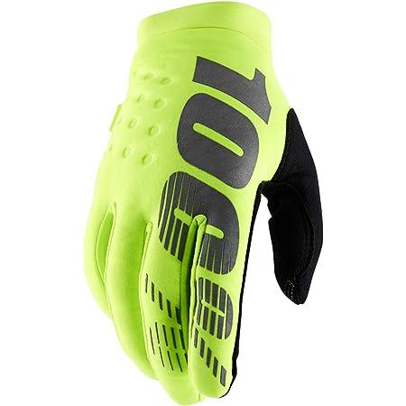RIDECAMP Glove Neon Yellow-Large 100/% Unisex-Adult Speedlab 10008-004-12