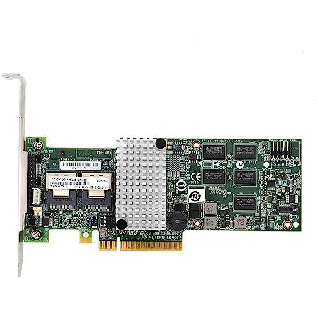 M5015アレイカード、IBM M5015 Megaraid 92608i SATA / SASコントローラー用RAID6G PCIe x8 for LSI 46M0851