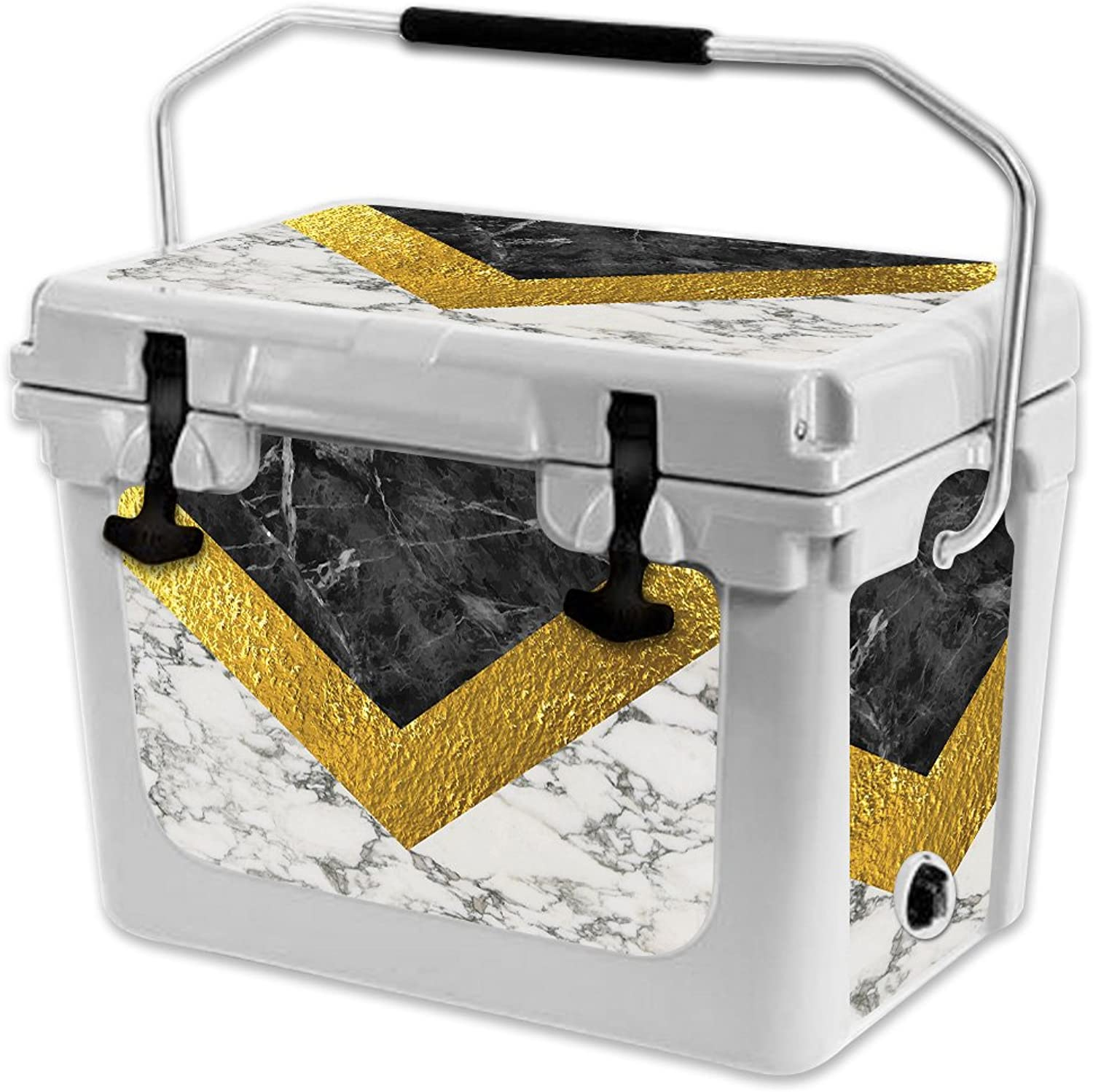 MightySkins Skin Compatible with RTIC 20 Cooler (2017 Model)  Modern Marble   Predective, Durable, and Unique Vinyl Decal wrap Cover   Easy to Apply, Remove, and Change Styles   Made in The USA