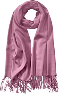Unisex Large Lightweight Soft Silky Real Cashmere Shawl Wrap Scarf