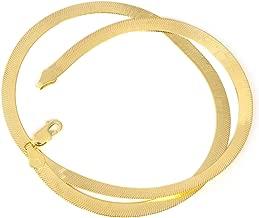 14k Yellow Gold Imperial Herringbone Necklace or Bracelet