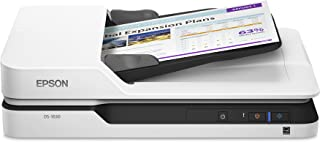 Epson DS-1630 Document Scanner: 25ppm, TWAIN & ISIS Drivers, 3-Year Warranty with Next Business Day Replacement