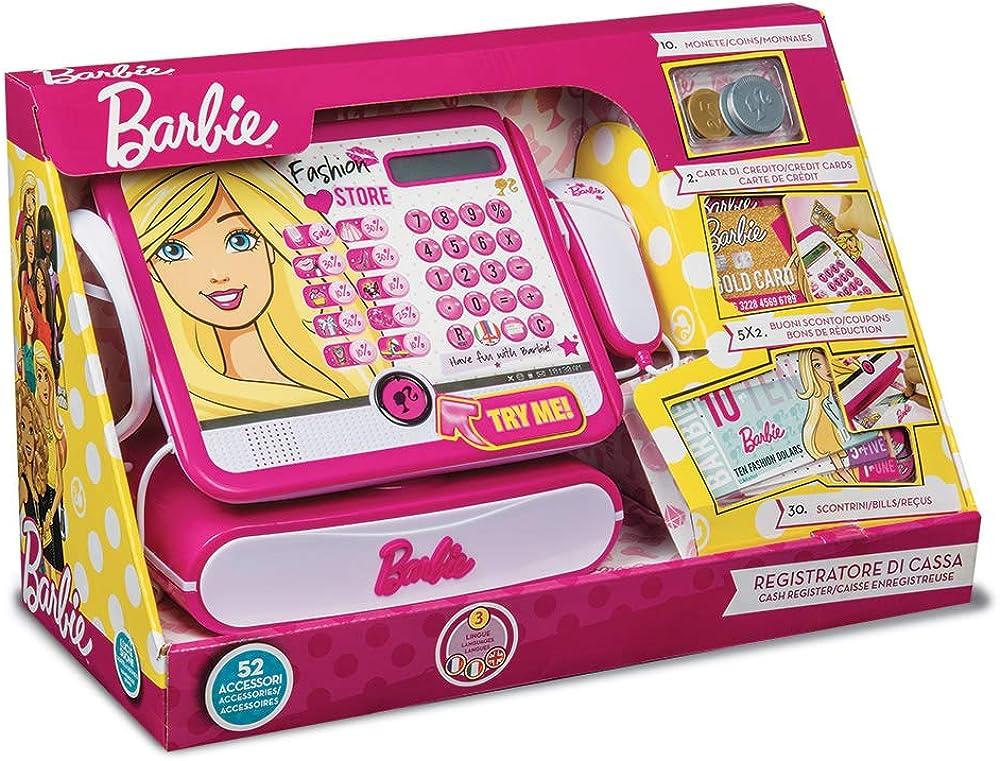 Grandi giochi registratore di cassa barbie BBCR2