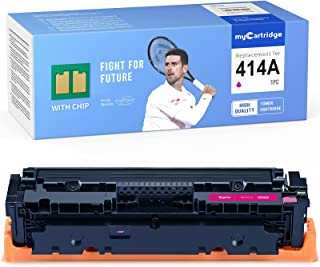 MYCARTRIDGE (with CHIP) Remanufactured Toner Cartridge Replacement for HP 414A 414X W2023A for Color Laserjet Pro M479fdw ...