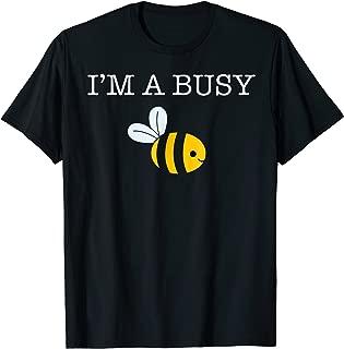 Busy Bee Cartoon Bumble Bee Shirt