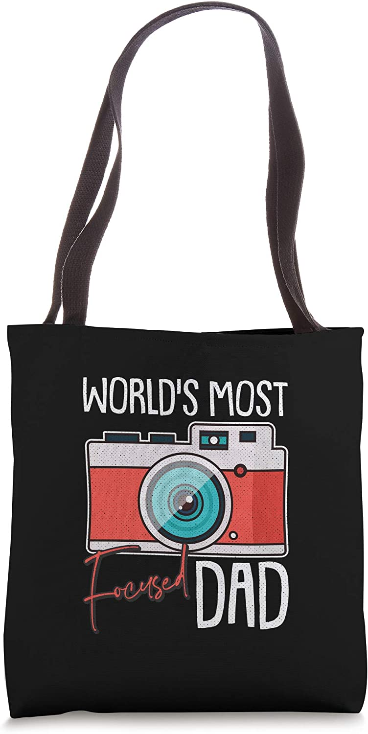 Photographer Fathers Day Cool Photography Dad-dy Papa Tote Bag