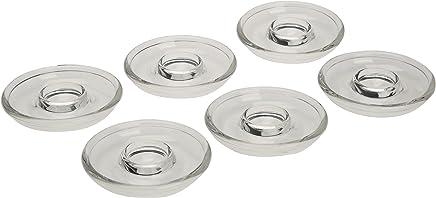 Preisvergleich für Leonardo Ciao 060285 Eierbecher-Set aus Glas, 6 Stück