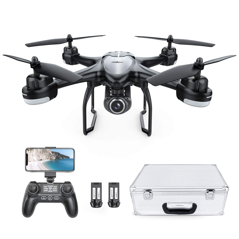 Potensic Quadcopter Adjustable Wide Angle Batteries