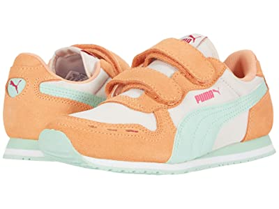 Puma Kids Cabana Racer NL V (Little Kid) (Rosewater/Cantaloupe/Mist Green) Girls Shoes