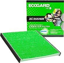 EcoGard XC35516H High Efficiency Premium Cabin Air Filter + Baking Soda Fits Toyota Prius, 4Runner, FJ Cruiser, Celica   Subaru Outback, Legacy   Mitsubishi Galant, Endeavor, Eclipse   Mazda MPV