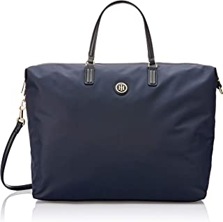Tommy Hilfiger Women's Poppy Weekender Tote Bag, Blue, One Size