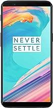 OnePlus 5T A5010 128GB Dual-SIM (GSM Only, No CDMA) Factory Unlocked 4G/LTE Smartphone (Midnight Black) - International Version