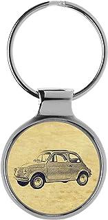 Suchergebnis Auf Für Fiat 500 Schlüsselanhänger Schlüsselanhänger Merchandiseprodukte Auto Motorrad
