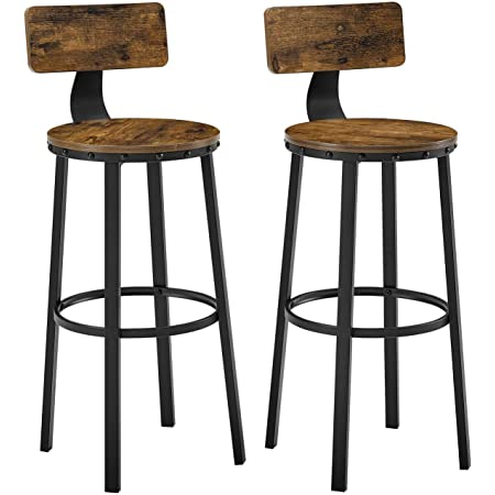 Signature Design By Ashley Challiman Bar Height Bar Stool Set Of 2 Brown Furniture Decor