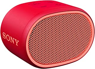 SRS-XB01 - Speaker wireless portatile con EXTRA BASS, Resistente all'acqua, Bluetooth, Rosso