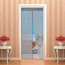 Magnetische Vliegengordijn, klamboe Hordeur 120 x 260 cm   47 x 102 inch Sluit Automatisch Garagedeur Ingang venster Ponsv...