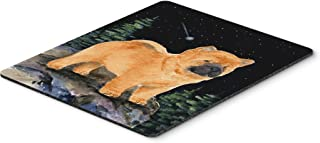 Caroline's Treasures Mouse/Hot Pad/Trivet, Starry Night Chow Chow (SS8488MP)
