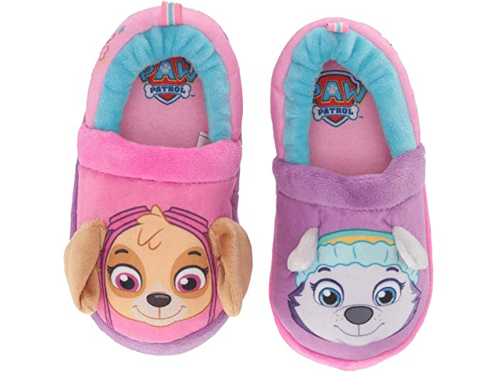 Josmo Girls Kids Paw Patrol Slip on Shoes Purple 8 M