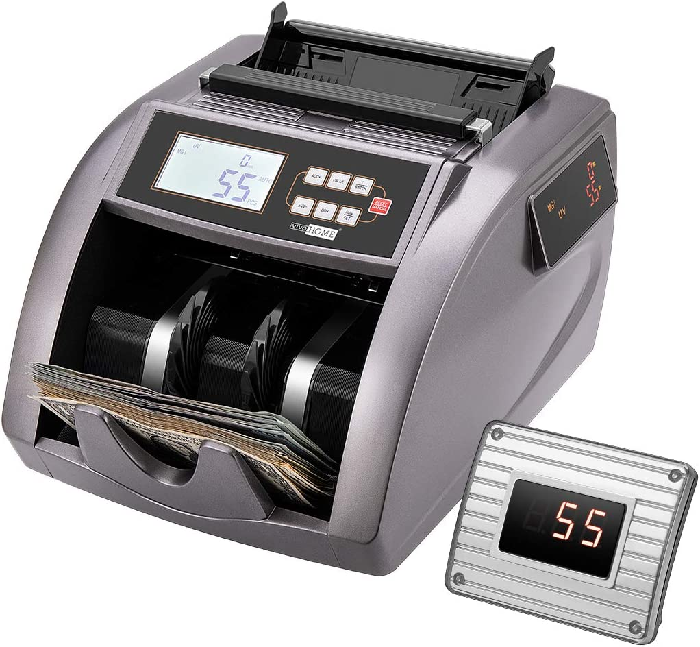 VIVOHOME Money Counter UV MG Bill Counterfeit Atlanta Mall Count IR Now on sale Detection