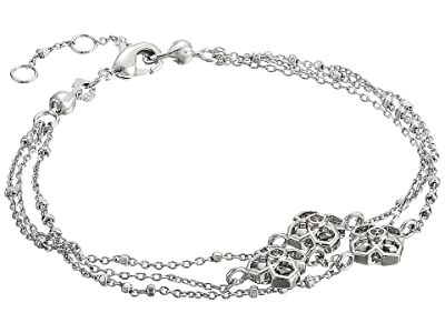 Kendra Scott Rue Multi Strand Bracelet (Rhodium Metal) Bracelet