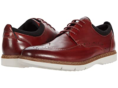 Stacy Adams Synergy Wing Tip Oxford (Cranberry) Men