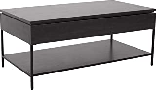 Ravenna Home Heights Wood Lift Top Storage Coffee Table, 43.3