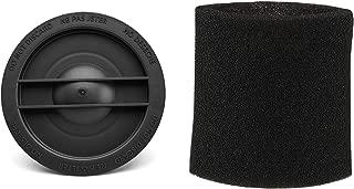 Shop-Vac 3183000 Small Cartridge Filter Retainer Nut & Shop-Vac 90526 Small Foam Filter Sleeve