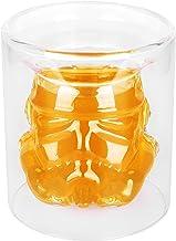 VI AI Double Wall Water Glasses Whiskey Glass Cup Crystal Mug Star Wars Mug 150ML