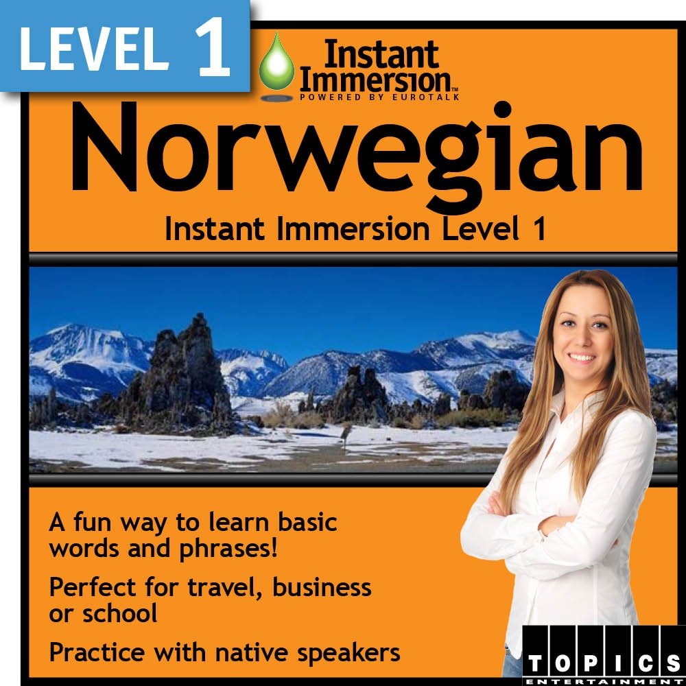 Instant Immersion Level 1 5% Shipping included OFF Norwegian - Download