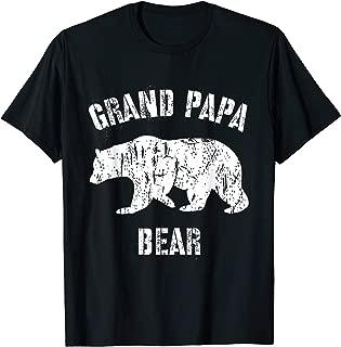 Vintage Grand Papa Bear Shirt Grandpa Grandfather