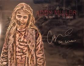 Walking Dead, Addy Miller First Walker Autographed Signed Memorabilia 16x20 Photo 2 with JSA