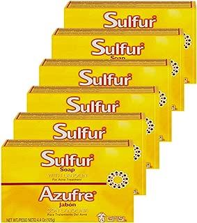 Best bio sulfur soap benefits Reviews