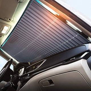 Dark Grey CARGOOL Car Window Shade Automotive Window Sun Shade Breathable Side Window Cling Shades against UV Ray Set of 2 Sunlight and Glare