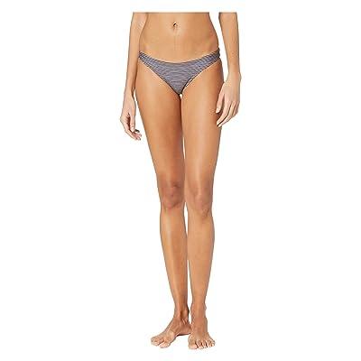 Hurley Micro Stripe Surf Bottoms (Black) Women