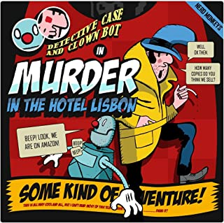 Detective Case and Clown Bot in: Murder in the Hotel Lisbon [Download]