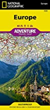 Europe (National Geographic Adventure Map)