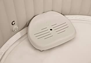 Intex PureSpa whirlpoolaccessoires - kunststof zitting in hoogte verstelbaar - 47 x 36 x 22 cm - beige