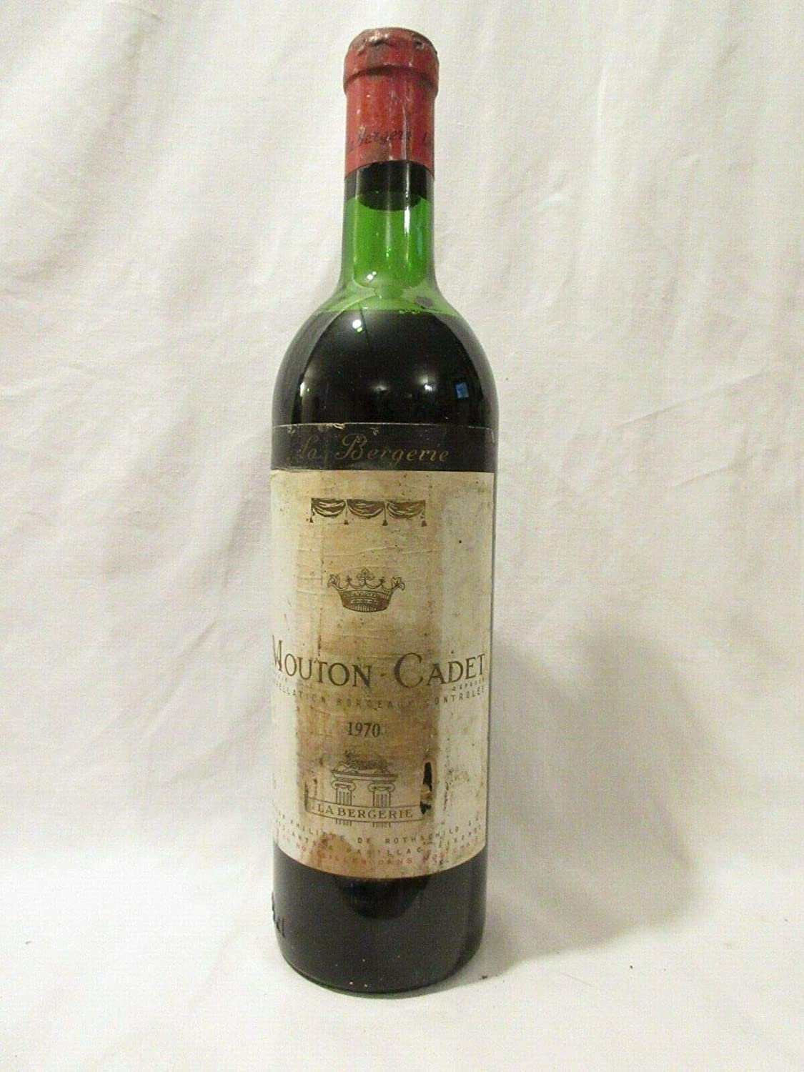 Bordeaux mouton-cadet rot 1970 - bordeaux france france  After-Sale-Schutz