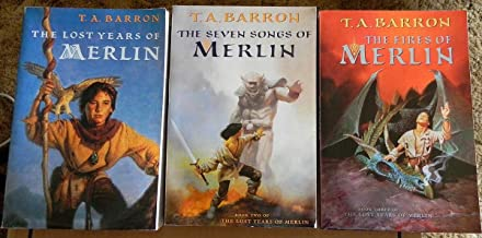 A T. A. Barron Collection: The Lost Years of Merlin; The Seven Songs of Merlin; The Fires of Merlin (Paperback)
