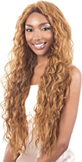 Motown Tress Synthetic Lace Wig - L Stream-REDWINE