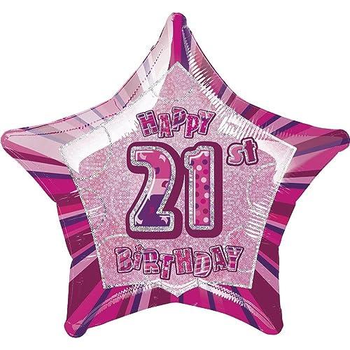 21 Helium Birthday Balloons Amazoncouk