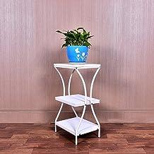 3 Tiered Tribune van de bloem Balkon Woonkamer Slaapkamer ingemaakte smeedijzer Indoor Multifunctionele Flower Pot Shelf (...
