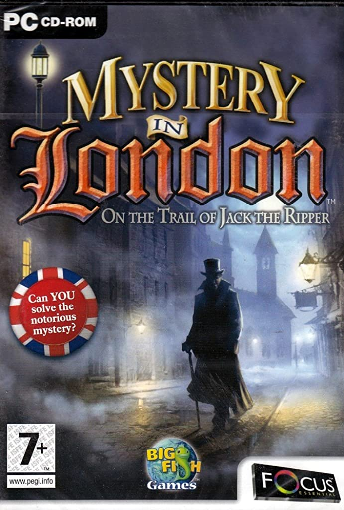 Big Fish Games MYSTERY IN LONDON: JACK THE RIPPER