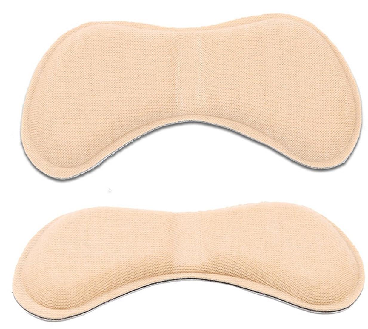 せっかちミッションファーザーファージュ[MNoel] ベージュ 靴ずれ防止 やわらかかかとクッション 貼るだけ簡単 滑り止め 魔法のかかとサポーター かかと抜け サイズ調整用 かかと 靴擦れ 防止 シート パット