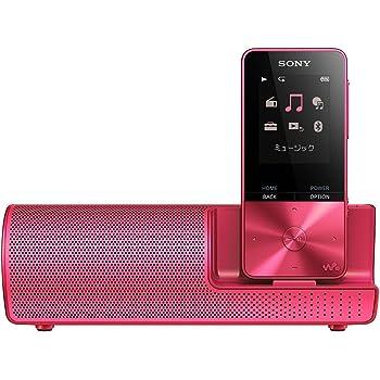 ソニー ウォークマン Sシリーズ 16GB NW-S315K : Bluetooth対応 最大52時間連続再生 イヤホン/スピーカー付属 2017年モデル ビビッドピンク NW-S315K P