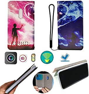 FY Flip Case For Tecno Spark 4 Lite Cover Flip PU Leather + Silicone Ring case Fixed HLAX
