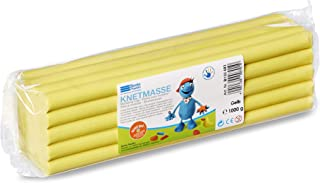 Becks Plastilin B100493 Modelling Clay 1 Kg Package Yellow, 1000 g