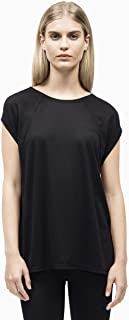 Calvin Klein Women's Cap Sleeve Tee With Strappy Back