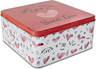 Städter 710153 Sweet Love Boîte à pâtisserie en fer blanc